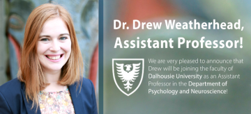 Dr. Drew Weatherhead Joining Dalhousie as Assistant Professor