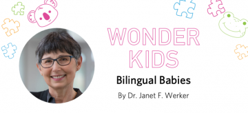 Dr. Werker's 'Wonder Kids' Talk Available Online
