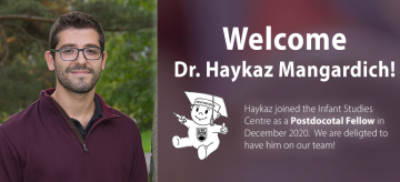 Dr. Haykaz Mangardich Joins Our Centre as Postdoctoral Fellow